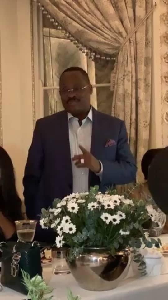 Photos from the pre-graduation dinner of ex-Oyo state governor, Abiola Ajimobi