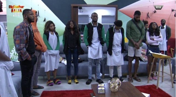 #BBNaija: All housemates up for possible eviction (video)