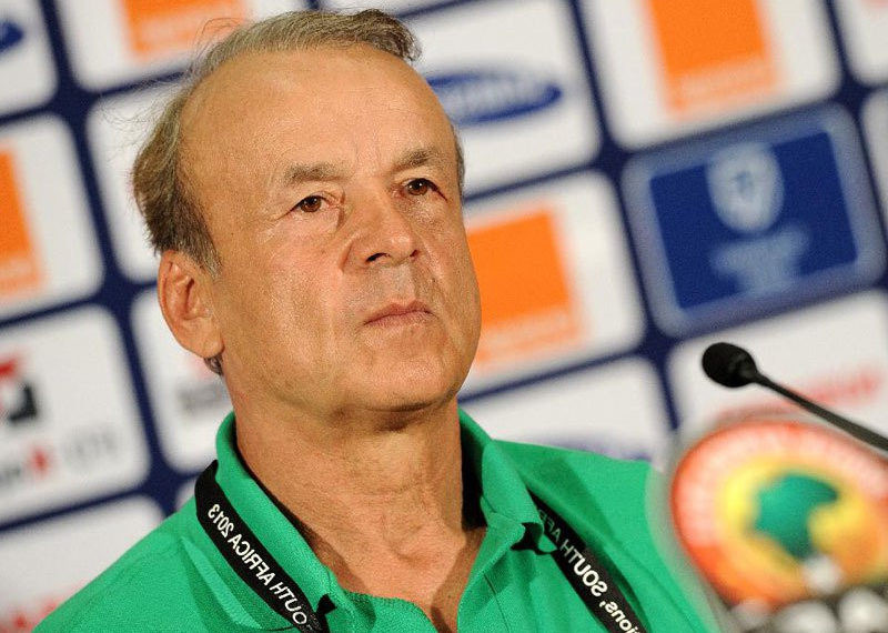 Super Eagles head coach, Gernot Rohr
