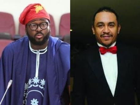 Why not strive to raise Nollywood to Hollywood standards - Daddy Freeze tells Desmond Elliot