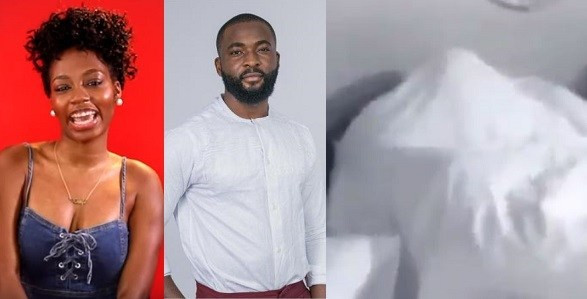 Video:   Watch #BBnaija housemates, Gedoni and Khafi, having sex