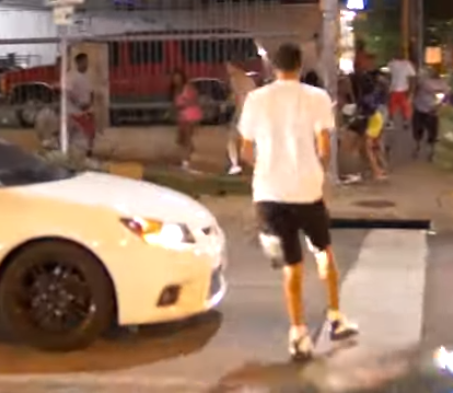 Viral video of a street fight which ended with a man shooting a woman