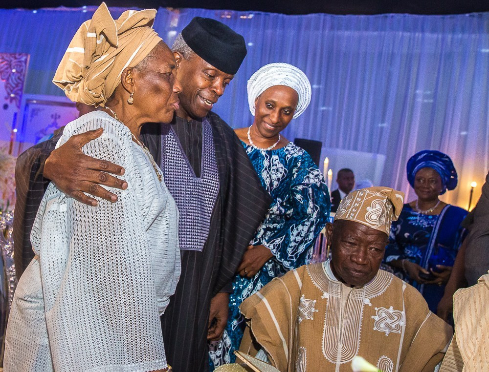 Photos:  Osinbajo, Tinubu, Sanwo-Olu, others attend 90th Birthday celebration of ex-Lagos state gov, Lateef Jakande
