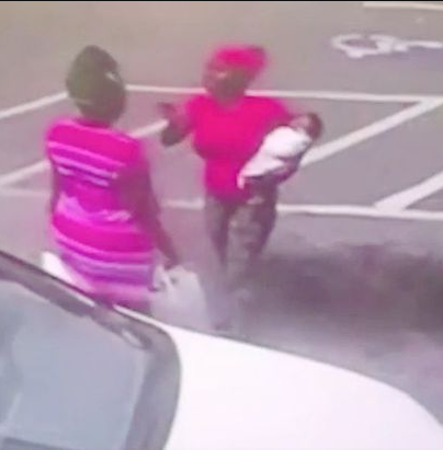 Mum charged with murder after dropping infant daughter during car park fight