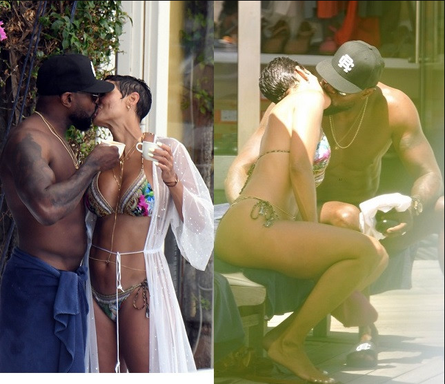 ?I do not condone women kissing a married man? - Nicole Murphy apologizes after she was caught kissing married director Antoine Fuqua