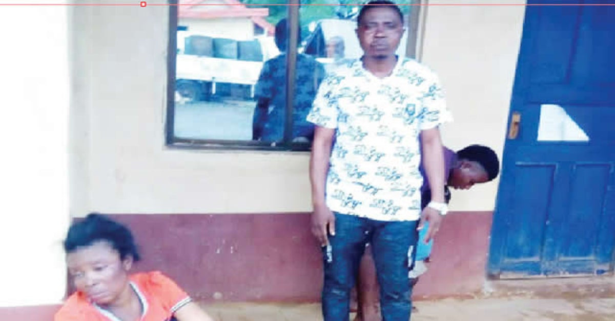 Suspected child traffickers nabbed by vigilante group in Ebonyi