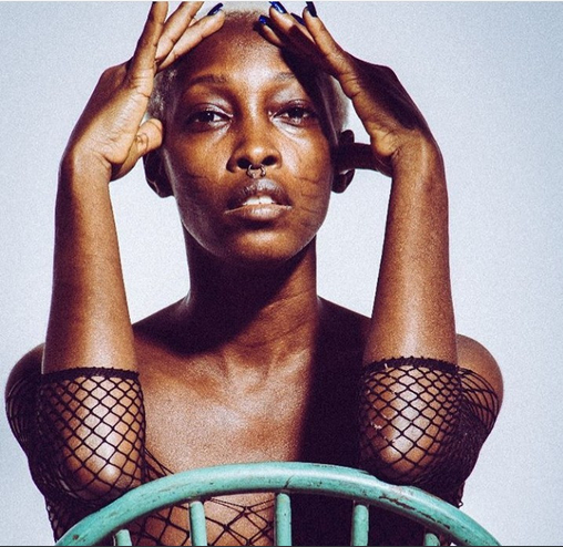 Nigerian model with tribal marks, Adetutu poses completely naked and gives reason (photos)