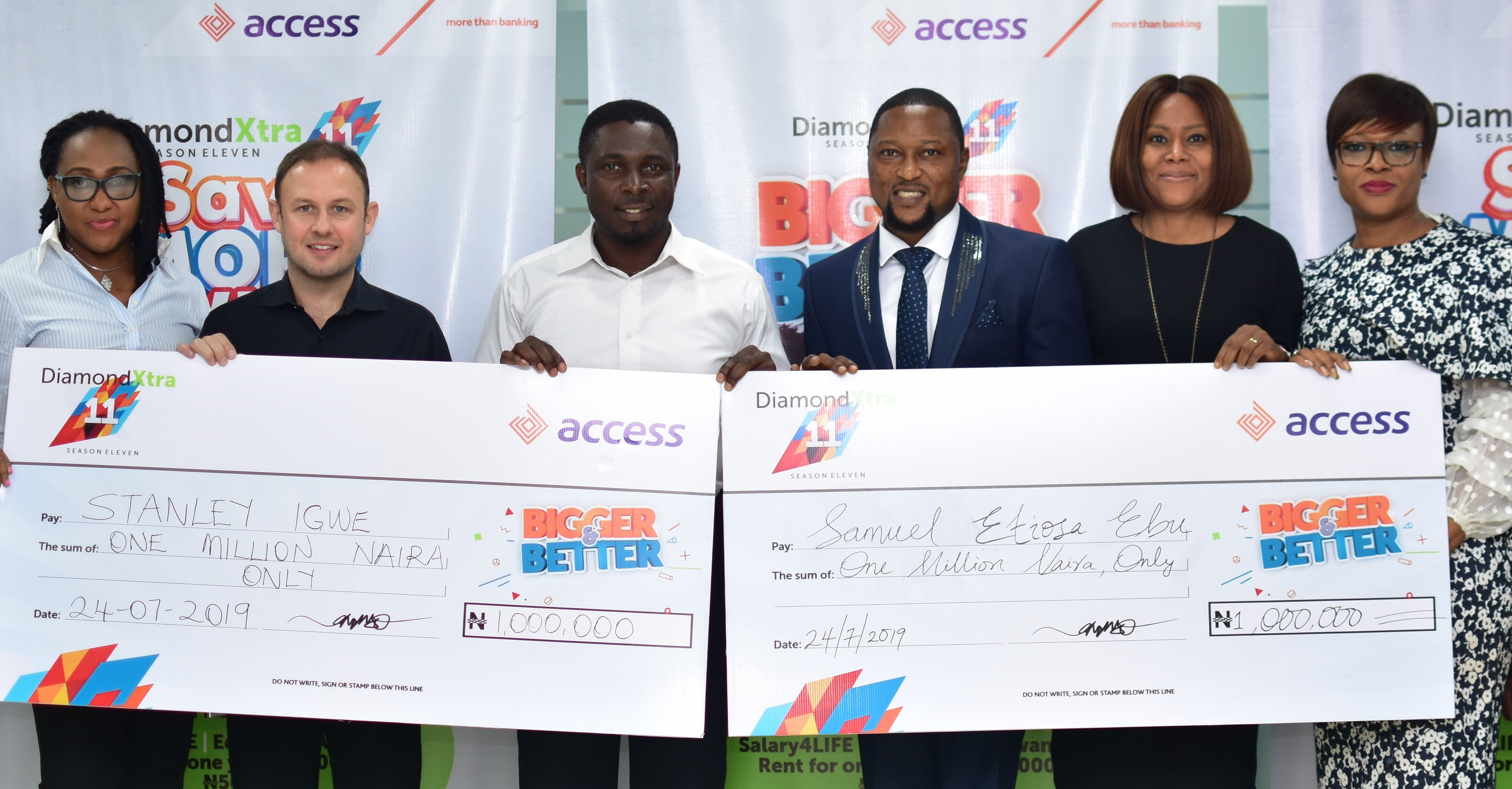 Access Bank: More Winners Emerge in DiamondXtra Monthly Draw