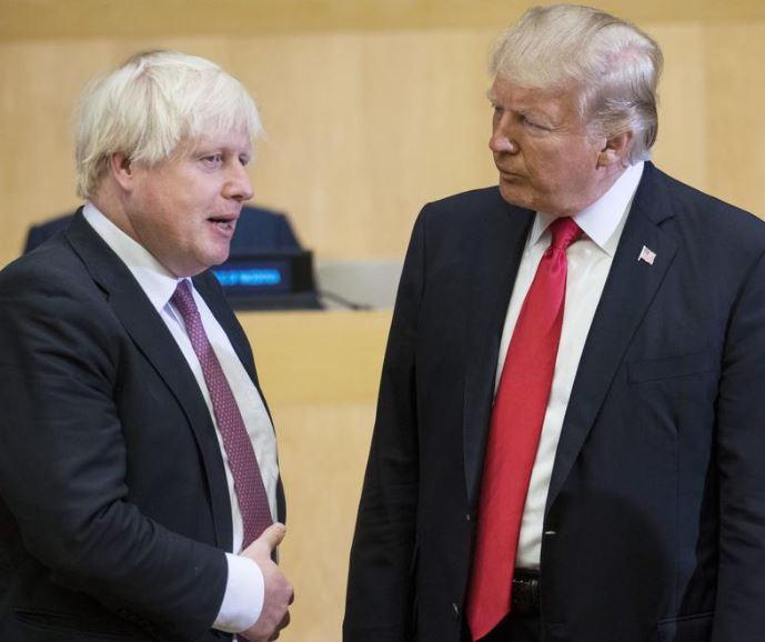 Like Donald Trump, new UK Prime Minister Boris Johnson says,