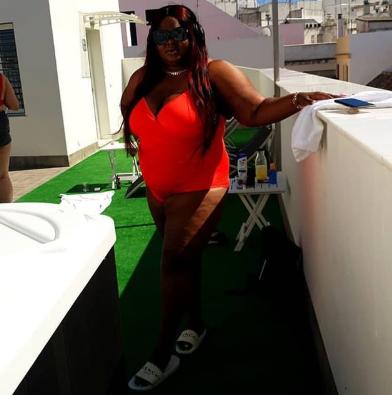 Eniola Badmus shuts down Instagram with her sexy swimwear photo