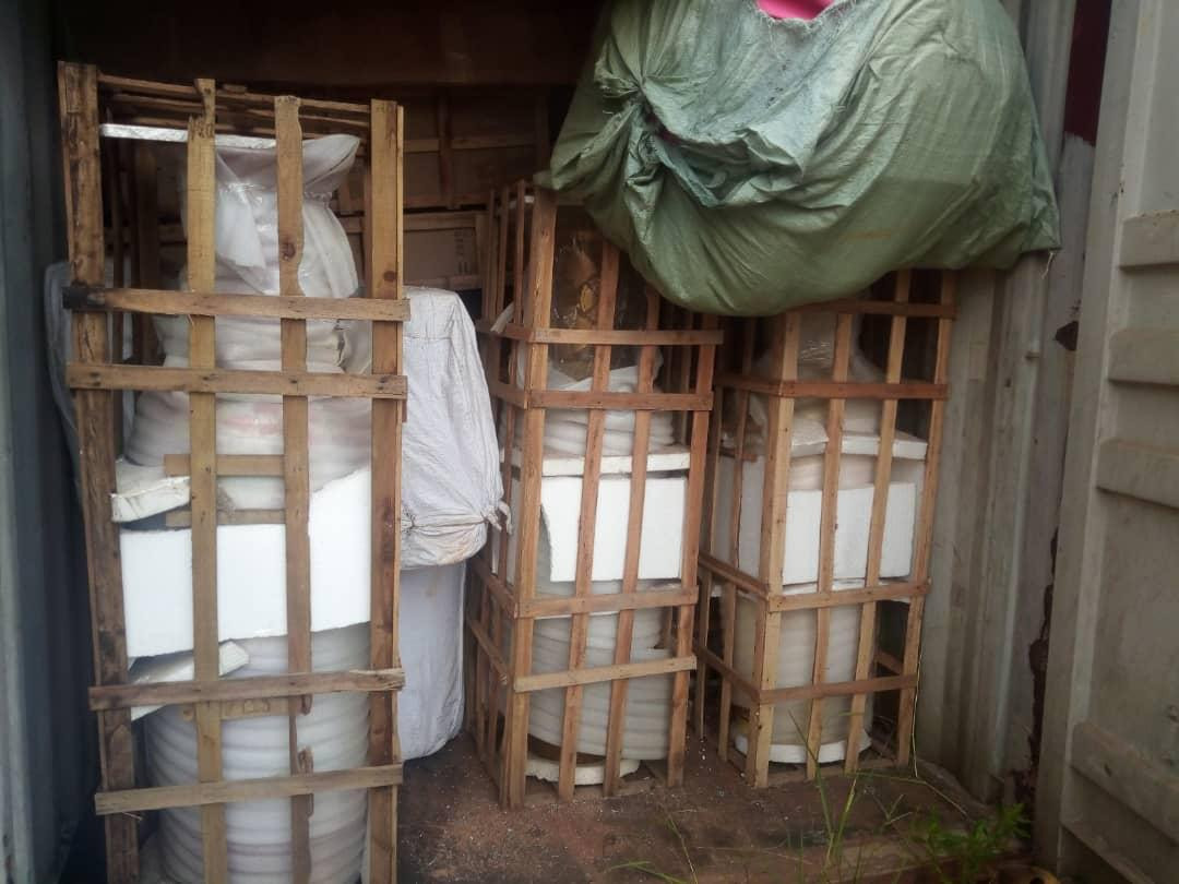 Warehouse where Rochas Okorocha?s family allegedly kept looted properties uncovered by Imo Government (photos)