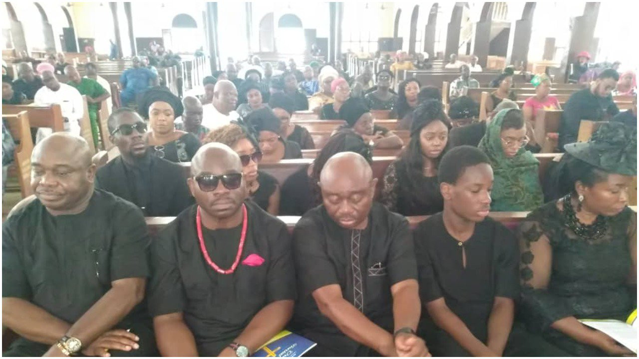 Photos: Insurance director, Elizabeth Ndubuisi-Chukwu, killed in South Africa laid to rest