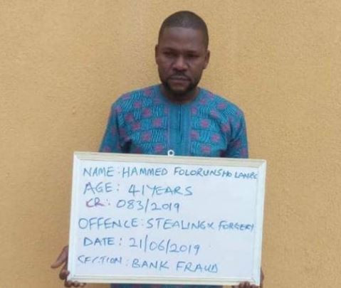 Civil engineer jailed for transferring N540k from his friend