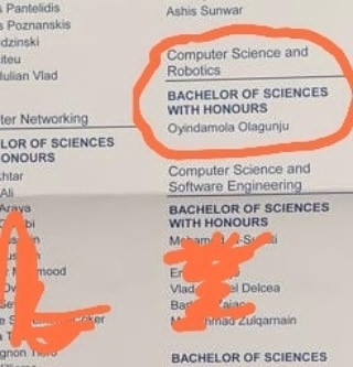 Media personality, Seun Olagunju celebrates as her 18-year-old daughter bags first class in Computer Science and Robotics from UK University