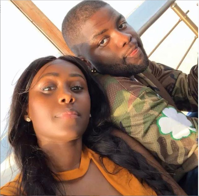 Skales shares new lovely photo with his stunning Rwandan-Canadian girlfriend, Neza?