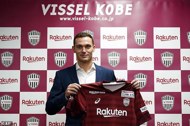 Ex-Arsenal and Barcelona star, Thomas Vermaelen joins his former teammates Iniesta and David Villa at Japanese club Vissel Kobe