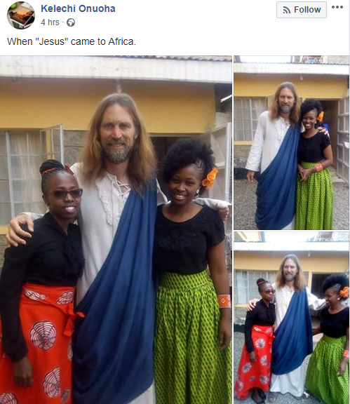 "Excitement as ""Jesus Christ"" visits Kenya (photos/videos)"