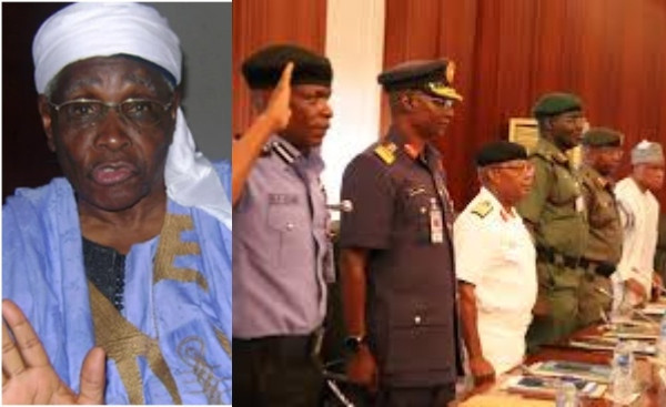 Nothing wrong in appointing service chiefs from one region - Ango Abdullahi