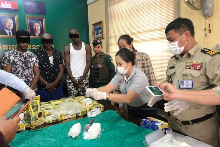 3 Nigerians arrested with more than 20 kg of illicit drugs in Cambodia