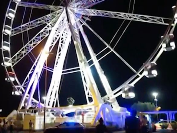 British man stripped naked, climbed on ferris wheel and jumped to his death