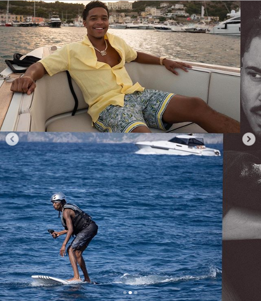 Diddy shares cute photos of his family on Vacation in Italy  (Photos)