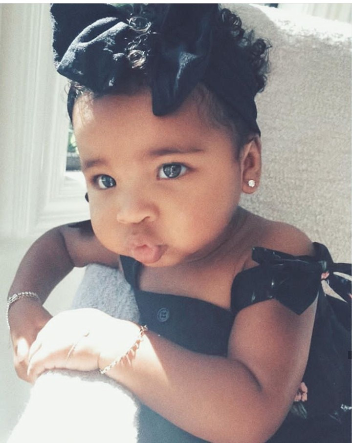 Khloe Kardashian gushes at adorable new photos of daughter True Thompson