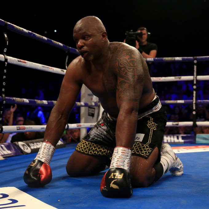British boxer, Dillian Whyte stripped of WBC interim heavyweight title as he is