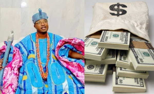 Oluwo of Owo reveals how to retrieve millions from US treasury with local charms (video)