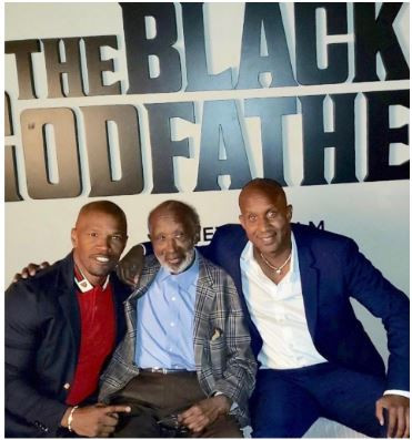 """THE BLACK GODFATHER; the story of the """"real bad boy"""" ?"""