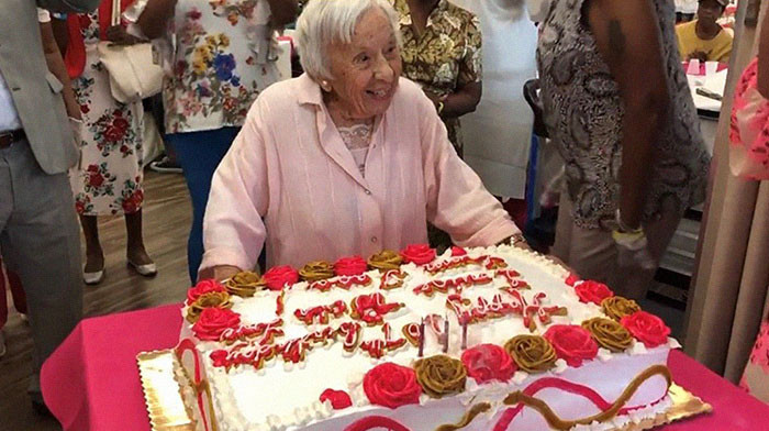 """I never got married"" Woman who turned 107 recently shares secret to her long life"