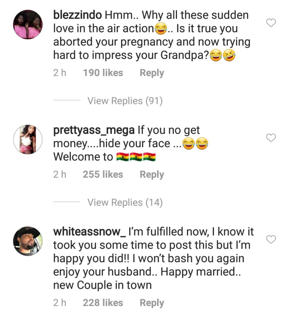 Nigerians go wild after Regina Daniels shared first photos with her billionaire hubby, Ned Nwoko , on her IG page