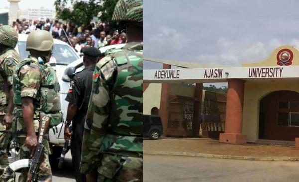 Soldiers allegedly rape student of Adekunke Ajasin University