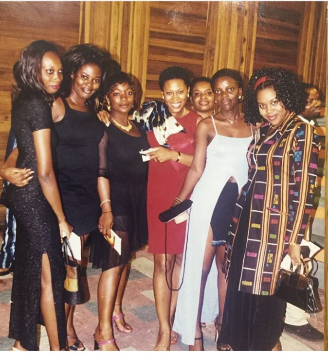 Can you recognize the actresses in this throwback photo