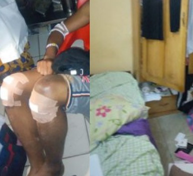 UNIABUJA medical students injured after unknown men attack their hostel (photos)