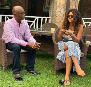 Lovely new photo of Regina Daniel and her hubby, Ned Nwoko