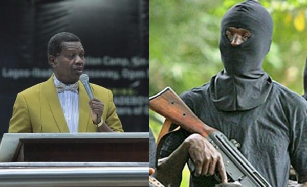 Gunmen abduct 5 RCCG pastors, Pastor Adeboye calls for prayers