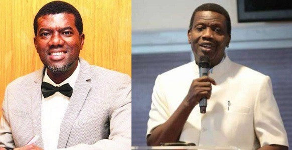 Reno Omokri calls out Pastor Adeboye over abduction of five RCCG pastors
