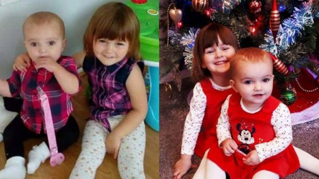 Woman kills her 3 year old and 17 months old daughters, says they