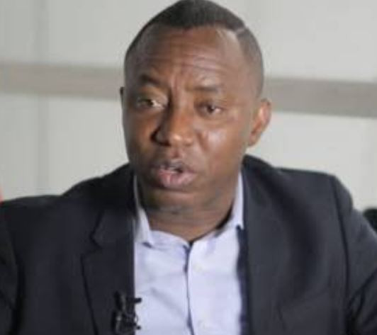 Deji Adeyanju shares 'eye-witness' report of how Omoyele Sowore was arrested by DSS this morning