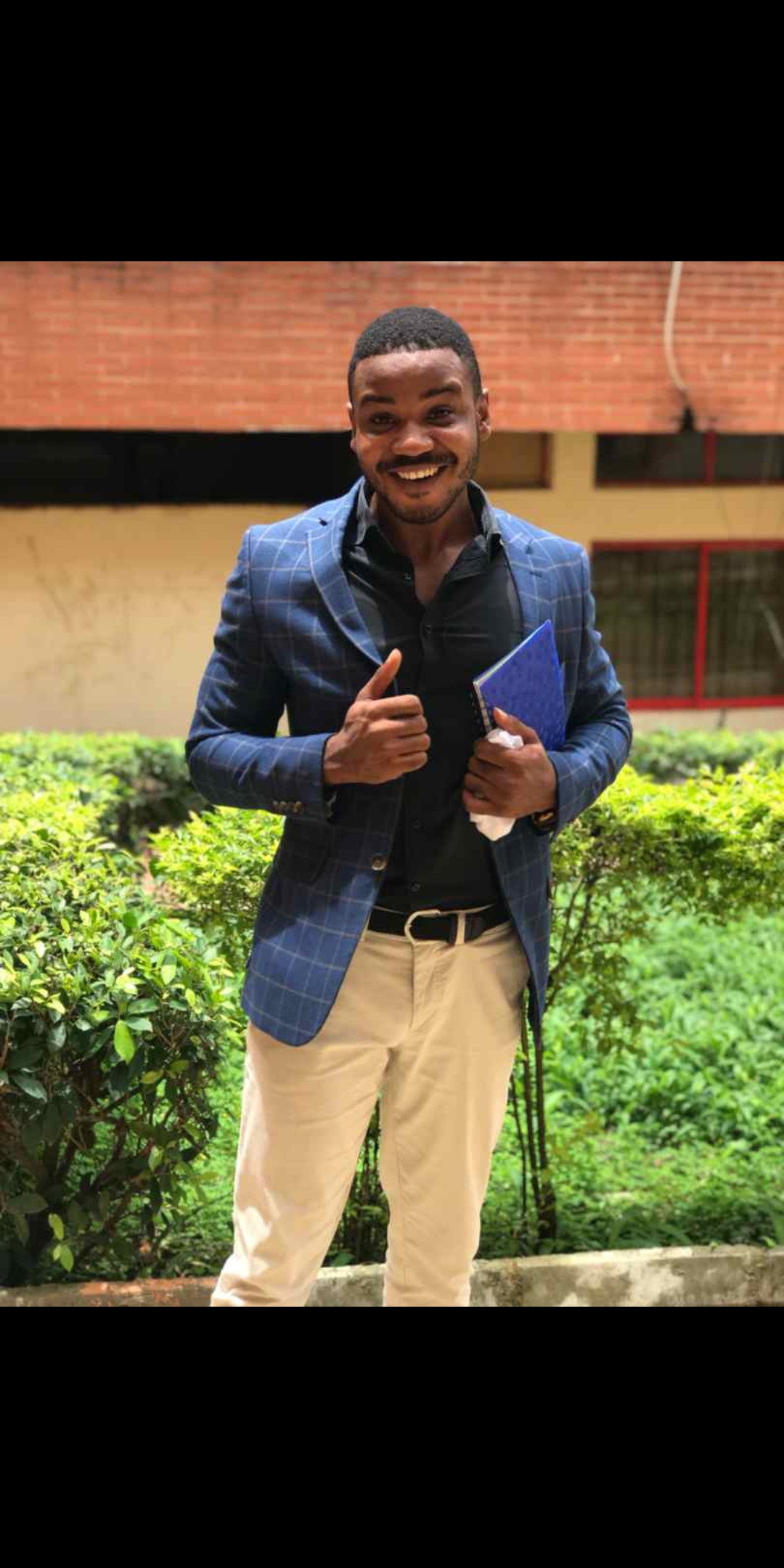 Help find this missing 300 level student of Caleb University