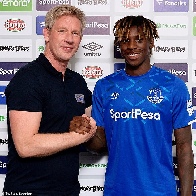 Everton confirm signing of 19-year-old striker Moise Kean from Juventus for initial ?29m (Photos)