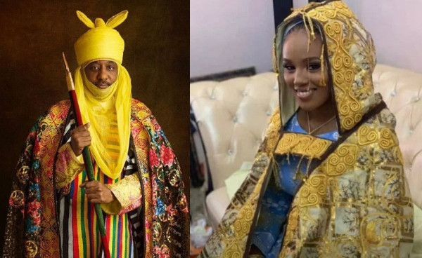 Emir Sanusi receives 4th wife, after UK education