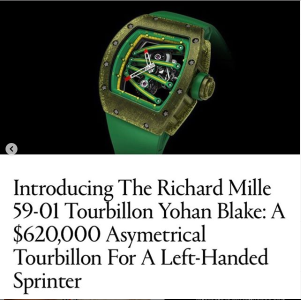 Floyd Mayweather shows off some of his expensive wristwatches and one is worth over N200m (See photos)