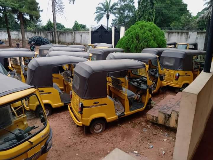 Photos: ICPC recovers N117m worth of constituency project items from Enugu Senator