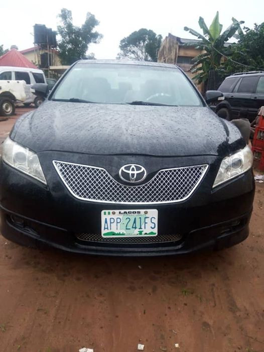 Photos: Police arrest five armed robbers in Anambra, recover snatched vehicle