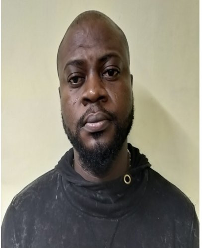 Photo: 35-year-old Nigerian national arrested in India for drug peddling