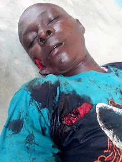 Photos: Corps member, police officer brutally stabbed by hoodlums in Ilorin