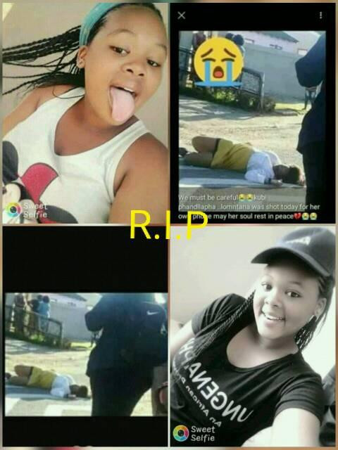 Photos: 14-year-old girl murdered in cold blood in South Africa because of her new phone