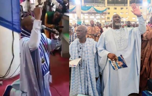 Senator Dino Melaye leads worship service in church (video)