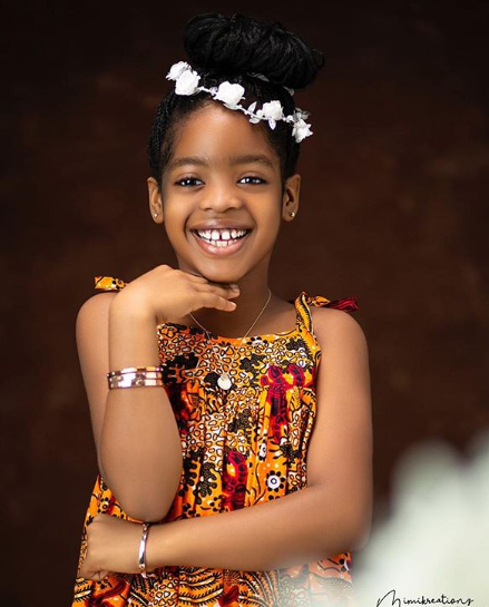 Basketmouth and wife Elsie Okpocha, celebrate daughter